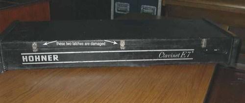 Hohner Clavinet E7 - case