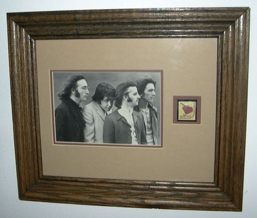 COLLECTABLES: Beatles stamp