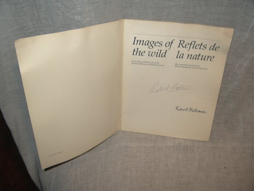 COLLECTABLE: ROBERT BATEMAN PROGRAM, SIGNED